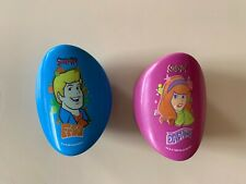 Vintage 90s Scooby Doo Fred and Daphne pringles boxes