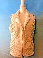 ac-tiv-ology winter white vest  size L