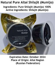 Mega Sale! Altai SHILAJIT RESIN 1.1LB (500Grams) Authentic Pure Mumijo; Salajeet