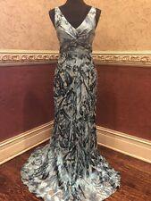 BCBG Elegant,Long Evening Dress For Prom,Cocktail,Gala. Color Marine. Size 2