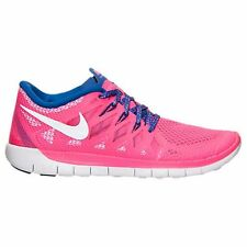 NIB NIKE GIRLS 6Y FREE 5.0 (GS) 644446 601 HYPER PINK RUNNING CASUAL SHOES $85