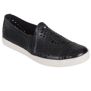 Women's Earth Brand Tayberry Casual Slip On Sneaker - Black