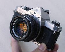 Flgship Pentax MX body+ SMC 50mm F1.7, the smallest Pro 35mm SLR camera LX K1