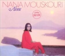 NANA MOUSKOURI - ALONE / LP 1985 GREECE PHILIPS NM/NM