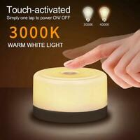 1PC Bedside Table Lamp LED Night Light Decor Dimmable Touch Control USB DIY