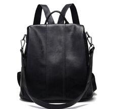 Anti-theft Leather Korean Fashion Bag Backpack Women School Bag