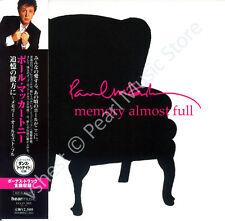 PAUL MCCARTNEY MEMORY ALMOST FULL CD MINI LP OBI + bonus track Beatles Wings new