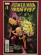 Power Man And Iron Fist #1 SIGNED By David Walker And Sanford Greene 2016