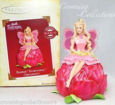 2005 Hallmark Barbie Fairytopia Keepsake Ornament MAGIC Fairy Wings Christmas