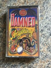 The Damned - Anything - 1988 Gothic Punk NEW Cassette Sealed Mint Nos Mca Record