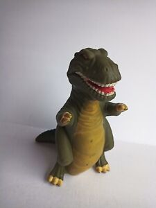Sharptooth T Rex Land Before Time Vintage Hand Puppet Rubber Pizza Hut 1988