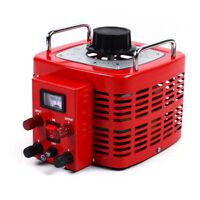 30Amp 110V Variac - Variable AC Power Transformer Regulator 0-130V 30A Metered