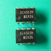 RC4559N DIP8 RAYTHEON New Dual High Performance Operational Amplifier IC