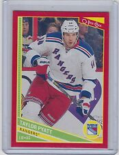 13-14 2013-14 O-PEE-CHEE TAYLOR PYATT RED 138 WRAPPER REDEMPTION RANGERS