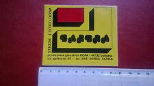 Adesivo BARBRA produzione giocattoli ROPA Bologna