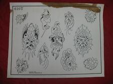 1986 Spaulding & Rogers Flash Art Evil Wizards Page 610T