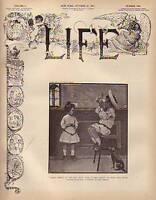1907 Life (Oct 24) Galsworthy, Best 150 Novels, Vampire