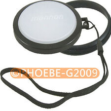 55mm White Balance Lens Filter Cap with Filter Mount WB