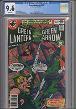 Green Lantern #119 CGC 9.6 1985 Marvel Comic: Green Arrow too!  NEW CGC FRAME