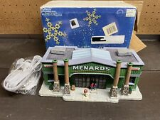 Menards Lemax 2006 Ceramic Lighted Building Store Lumber Hardware Christmas New