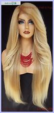 "25"" LONG LACE FRONT DEEP CPART HIGH HEAT SAFE WIG COLOR T27.613  SEXY 1098 NEW"