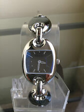 newstuffdaily: NIB GUCCI Marina Chain Black Ceramic Ladies Swiss Watch SRP $1050
