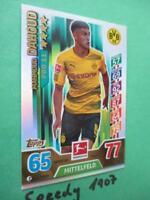 Topps Match Attax 17 18 limitiert Pro 11 Dortmund Dahoud P8 limited 2017 2018