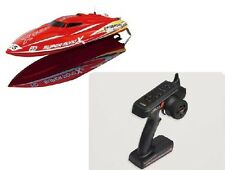 Ersatzteil Rennboot Speedboot Super Mono X: Fernsteuerung 2.4GHZ V2