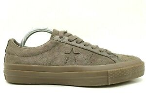 Converse All Star Brown Suede Leather Casual Fashion Sneakers Shoes Men's 7
