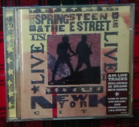 Live In New York City  Bruce Springsteen & The Estreet 2 Cd Usato