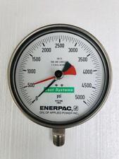 ENERPAC T6002L TEST GAUGE 5000 PSI/ 350 BAR (2)