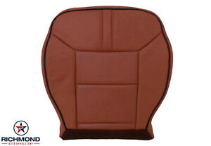 2008-2009 Hummer H2-Driver Side Bottom Genuine Leather Seat Cover Sedona Brown
