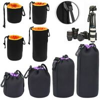 Waterproof Neoprene Lens Pouch Bag Protective Case for Digital SLR Camera TW