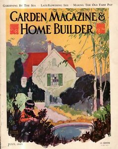 1925 Garden & Home Builder July - Houses in Bronxville, Katonah NY; Charleston