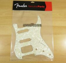 Fender HSS Stratocaster Pickguard Aged Moto Pearl Fender Fat Strat Pickguard