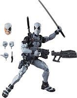 Marvel Legends Uncanny X-Force Deadpool 12 Inch Figure Gray Suit NEW