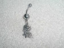 Chinese Dragon Charm Belly Button Navel Ring Body Jewelry Piercing