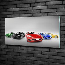 Deko Bilder Drucke Aus Glas Mit Auto Motiv Gunstig Kaufen Ebay