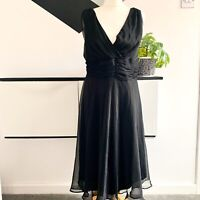 KIT Dress Size 16 BLACK | SMART Occasion WEDDING Cruise RACES