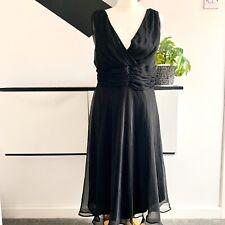 KIT Dress Size 16 BLACK | SMART Occasion WEDDING Cruise RACES
