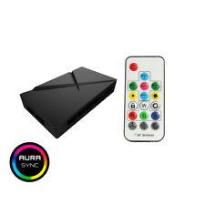 Game Max ARGB Fan Hub, 3 Pin Aura Sync, 3 Pin Power, 6 Port PWM RF Remote SATA