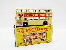 "LOT 33393 | Matchbox 74 B Daimler Bus Doppeldecker Esso neuwertig in ""E""-Box"