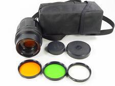 20 aperture blades !! Telelens TAIR-11A 2.8/135mm M42. s/n 840826. Zenit KMZ.