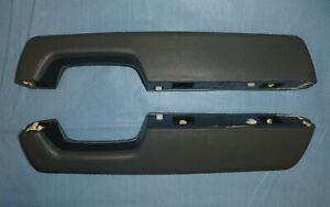 OEM Ford Ranger / Bronco II Arm Rests, NOS (L&R pr.), Dark Charcoal, 1983 -1988