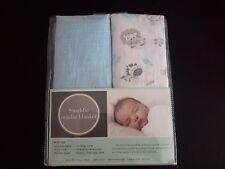 Baby muslin swaddle blanket.  Set of 2 BNIP , baby swaddles