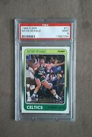 1988 Fleer Basketball Kevin Mchale Card #11 Boston Celtics HOF PSA Graded 9 Mint