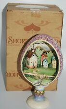 2006 Jim Shore #4007545 Small Town Big Blessings Easter Egg Church Diorama Mib