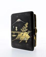 Fine Signed Amita Damascene Steel Cigarette Case - K24 Komita Type Box - VR