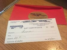 US-Nationwide Travel Gift Certificates