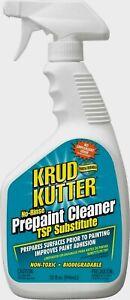 New!! Krud Kutter PRE-PAINT CLEANER TSP Substitute Degloss Non-Toxic 32 oz PC326